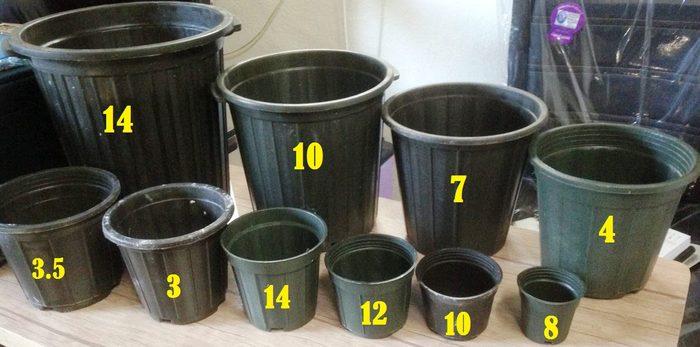 توضیحاتی کلی در رابطه با استاندارد سایز بندی گلدان هان دایره ایی و مربعی